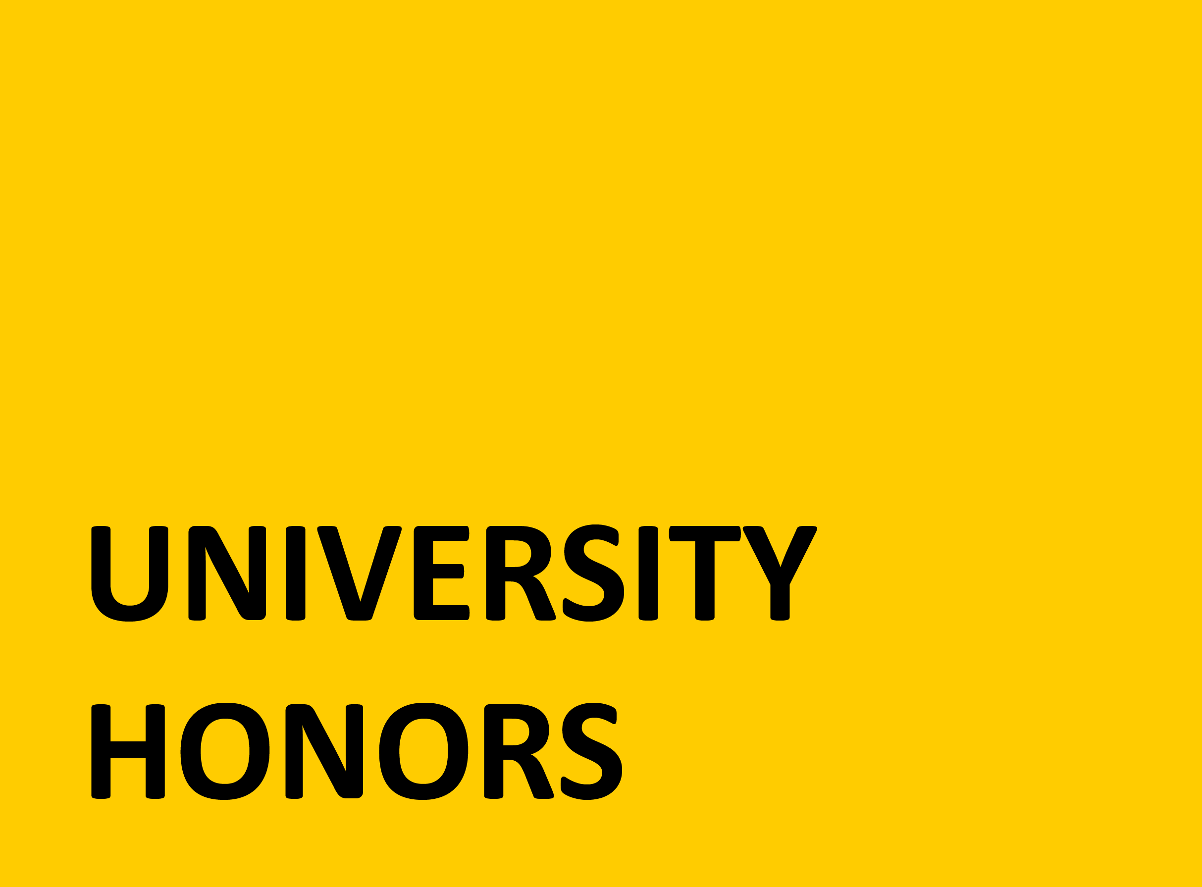 Admissions – Honors Site