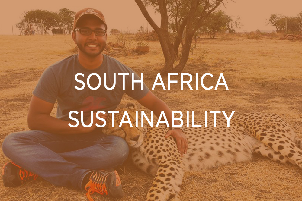 South Africa - Sustainability