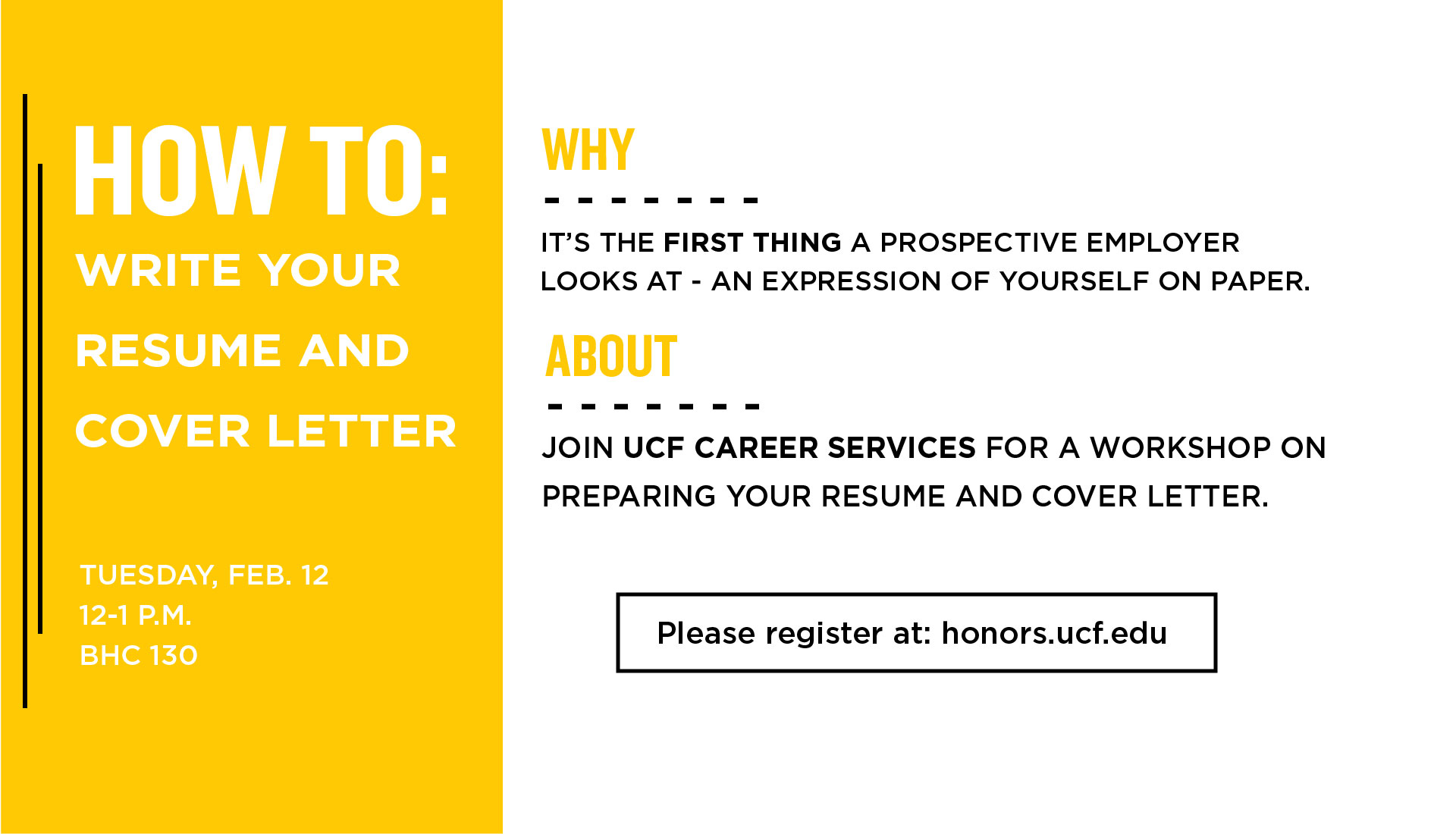 How To Write Your Resume And Cover Letter