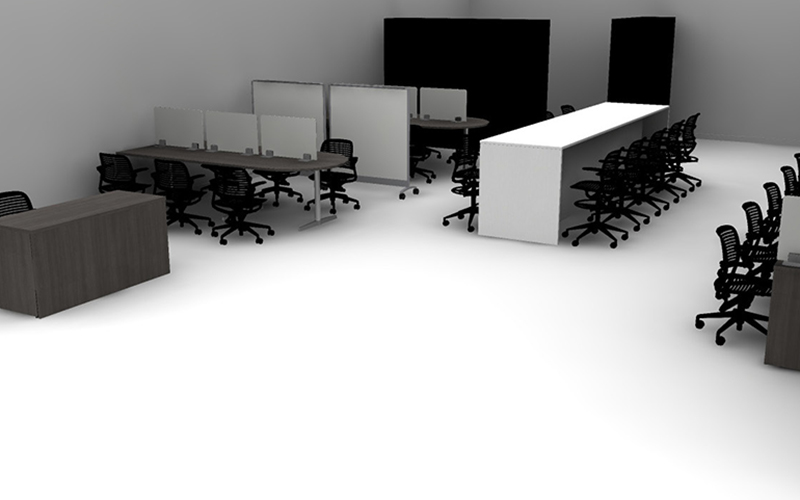 BHC computer lab (rendering)